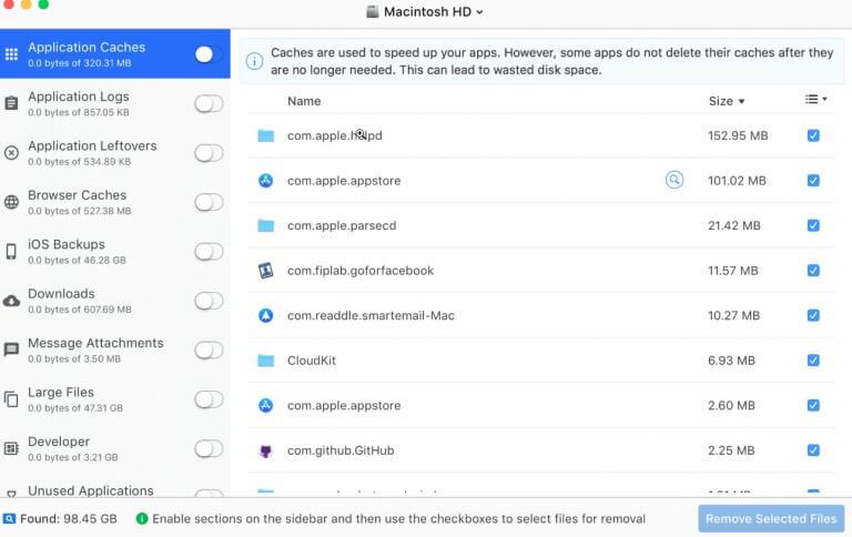 Disk Doctor - Mac cleaner app