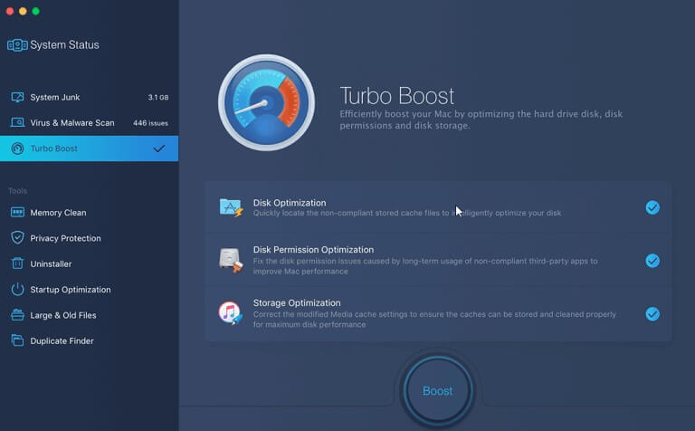 IObit MacBooster - clean and speed your mac